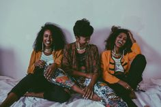 blackfashion:  Golden girls ��  Follow us on IG: @abyssiniangold...