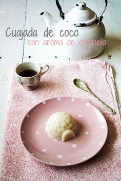 KOOKING: Cuajada de coco con aroma de citronella