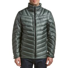 9b83b6aa1f42 Mountain Hardwear Stretchdown Rs Jacket ( 170) ❤ liked on Polyvore  featuring men s fashion