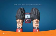 International hands ad campaign.
