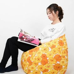 Charitable Lazy Couch Bean Bag Girl Net Red Bedroom Balcony Girl Heart Small Cute Single Tatami Floor Chair High Quality And Inexpensive Living Room Furniture Living Room Sofas