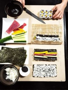 Mari Takahashi on Sushi Making