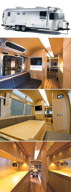 Airstream Concept: Not an ordinary 'caravan', but a 'Land Yacht'!