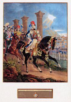 Gustav Kraus I. Greek Royalty, Greek Warrior, Military Uniforms, Helmets, Monuments, Reign, Revolution, Greece, Russia