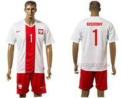 http://www.xjersey.com/poland-1-szczesny-home-euro-2016-jersey.html Only$35.00 POLAND 1 SZCZESNY HOME EURO #2016 JERSEY #Free #Shipping!
