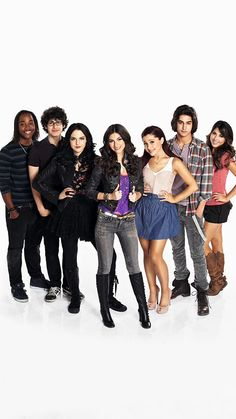 They act very funny in victorious and I always watch it