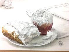 트위터 Watercolor Food, Japanese Art, Art Lessons, Drawings, Painting, Dark, Twitter, Illustration, Image