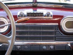Vintage Radio in a 1948 Oldsmobile Deluxe 68 Woodie by Left Coast Classics & Exotics, via Flickr