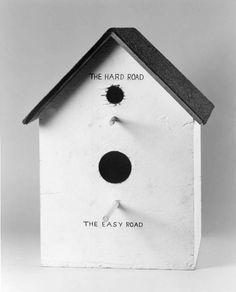 Mike Kelley (1954-2012), 'Catholic Birdhouse', 1978. Privé collectie, New York.
