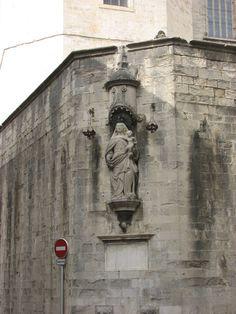 Street corner, Girona Spain