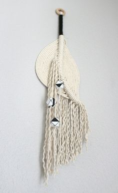 Macrame Wall Hanging small size The pond no.15 by HIMO by HIMOART