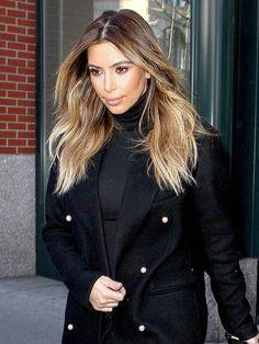 thinking about Kim kardashian-ing my hair this summer?!?