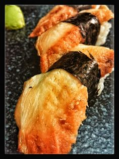 #anago nigiri #sushi prague #millhouse sushi #fusion