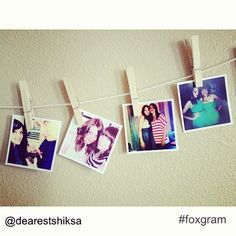 """""""I love my new #instagramprints from www.foxgram.com! There are a few different apps that print your Instagram photos but I liked #foxgram because they didn't make you print a minimum of 48 like other apps and they were only .25 cents a print and shipping is just .99 cents!"""" #instagramprints #instagram"""