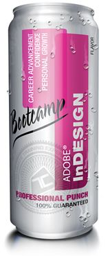 """Flavor """"Professional Punch"""" - consumed by Bootcampers at our InDesign Training  http://www.trainingconnection.com/indesign-training.php"""