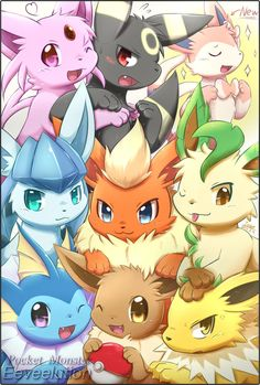 2013Eeveelution by ffxazq on DeviantArt