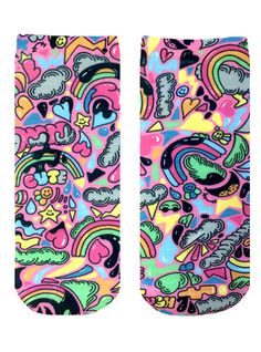 Laugh and Love Ankle Socks