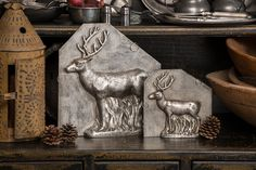 Reindeer Chocolate Molds