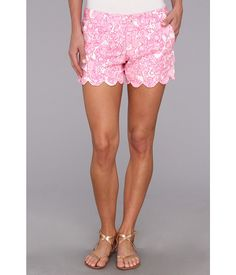 Lilly Pulitzer Buttercup Short (PB Pink Shes A Fox) Women's Shorts