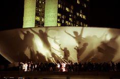 EBC   Cidadania   Brasília: confira imagens da manifestação em frente ao Congresso Nacional