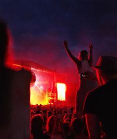 I just happen to love summer festivals. Specially Ruisrock held in Turku, Finland.