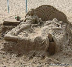Amazing sand art & Popeye on his P90X kick. | Something Worth Looking At ... azcodes.com