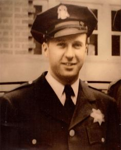 Sgt John V Young, Police Academy graduation picture 1956