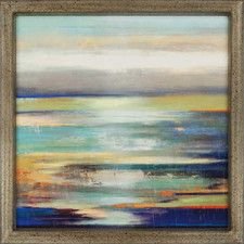 Evening Tide by Reeves Framed Painting Print