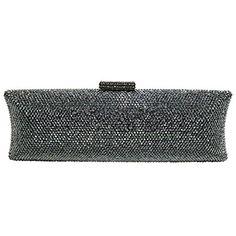 b3360fe4ac DMIX Long-shaped Crystal Evening Clutch Bag Review
