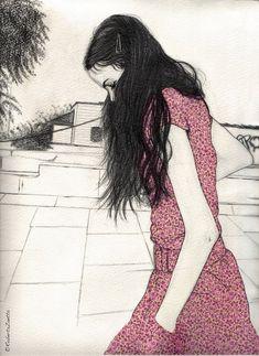 Drawings by Roberta Zeta, via Behance