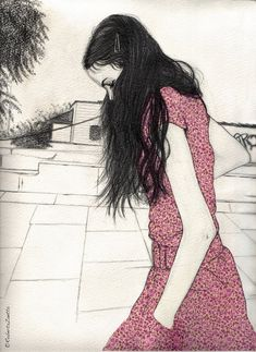 Drawings by Roberta Zeta, via Behance
