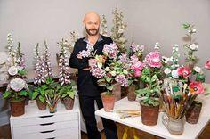 porcelain+flowers+artist+vladimer+kanevsky | Hyperrealistic porcelain flowers by Russian artist Vladimir Kanevsky