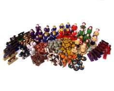 Agricola Deluxe Set of Handmade Pieces by epicycledesigns on Etsy, $299.00