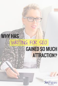 Why has writing for SEO gained so much attraction? I'm here to tell you on Six Figure Writing Secrets.