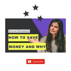 How to save money and why ➕ ➕ Hiya! Join my journey of self-improvement, goal setting and personal challenges. I'm on a mission to be a better version of myself and therefore I'm setting myself personal challenges which might challenge you as well. In this video, I want to tell you why you should start saving today and HOW. Tell me the truth, do you save money each month? ☆ I mention the 10% rule. Tune in to find out what it is all about. It's not rocket science but it might change your life.