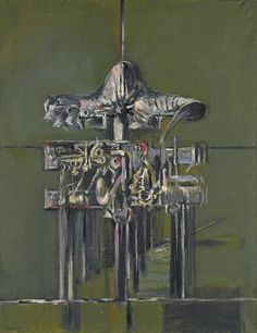 View VARIATION ON A THEME I By Graham Sutherland; oil on canvas; 90 by by Signed; Access more artwork lots and estimated & realized auction prices on MutualArt. English Artists, British Artists, Modern Artists, Magazine Art, Art Market, Collage Art, Graham, Oil On Canvas, Abstract Art