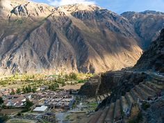 Ollantaytambo (last road stop before train to Machu Picchu)
