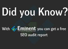 We offer only SEO & Web Analytics services, as we're passionate about it. Web Analytics, Did You Know, Seo, Amazing