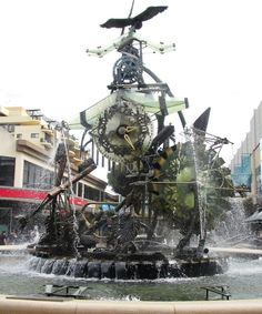 You saved to | SYDNEY LOVE | Whilst waiting for new tyres to be put on the company car at Bob Janes T-Mart Tyres at Hornsby, as you do on a Sunday. My wife and I went for a little wander to pass the time into Hornsby Mall. We really like the clock fountain there so here is a few photos of the iconic Hornsby Water Clock, titled Man, Time and the environment. #sydneylove www.buildingworks... Album - Google+