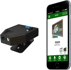 Garadget WiFi Smart Garage Door Controller - Remotely Control and Monitor Your Existing Garage Door with Free iOS/Android App, Alexa, IFTTT & Home Automation - - Amazon.com Garage Door Windows, Best Garage Doors, Best Garage Door Opener, Automatic Garage Door, Custom Wood Doors, Best Deals On Laptops, Home Security Systems, Home Automation, Wifi
