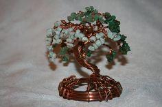 Copper and jade monkey pod tree