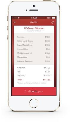 OpenTable Mobile Payments - Pay Your Check with OpenTable Mobile: Pilot Payment Program Launches in San Francisco