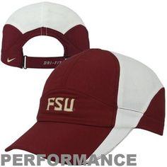 Nike Florida State Seminoles (FSU) Ladies Performance Featherlight Adjustable Hat - Garnet $23.95