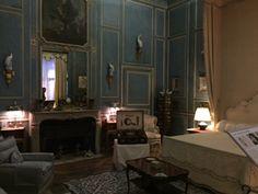 Lady Baillie's bedroom #Artdeco #1930s