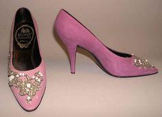 Evening shoes-Christian Dior 1955-1957
