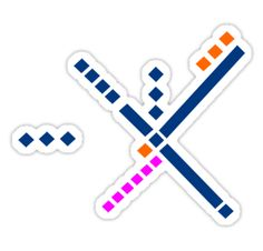 This is the view air-traffic-controllers have out the PDX tower window. It's the basis for the OLD airport carpeting. Find this, and other airport runway configuration stickers, at redbubble.com #pdxcarpet