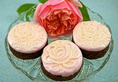 Lace Romantic Brownies, via Flickr.