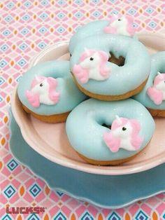 Pastellicious unicorn donuts