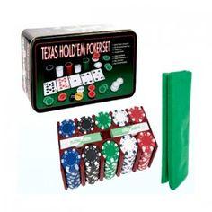 https://www.likeit.pt/poker/85-set-de-100-fichas-de-poker.html - O Set de 100 Fichas de Poker acrescenta aos seus jogos de poker um toque de realidade. Este conjunto de fichas de poker inclui 100 fichas numeradas assim como uma caixa metálica para guardar todos os seus acessórios de poker. Pode jogar poker a partir de casa e ainda assim sentir que está numa sala de casino.