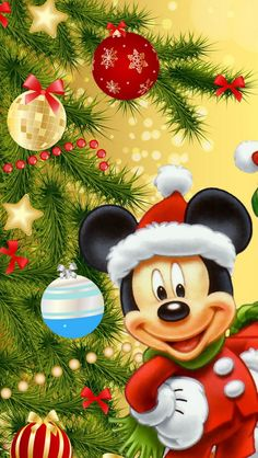 Disney Christmas, Christmas Art, Christmas Lights, Christmas Ornaments, Christmas Recipes, Christmas Images Free, Christmas Pictures, Mickey Mouse Quilt, Disney Collage